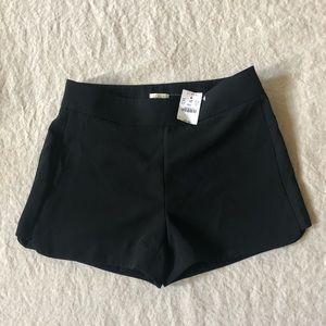 Jcrew black shorts, 2